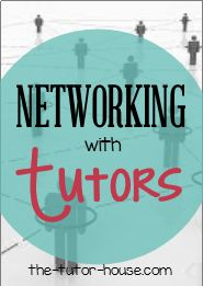 Networking with Tutors:  Ask the Tutor Podcast.  Have you ever wanted to meet other tutors and make connections?  Hear some of the ideas I share.  | the-tutor-house.com