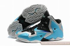 best website 85beb 82467 Nike Lebron XI 11 Lebron James Chaussures 2013 Armory Slate-Gamma Bleu For  Wholesale