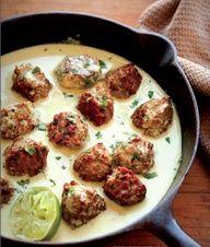 Thai Turkey Meatballs.