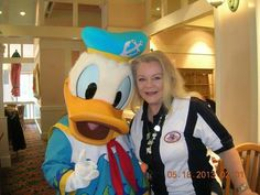 Meeting with Donald Duck