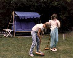 Elizabeth Durrant Broadstairs - Idler Swing Seat - 1984