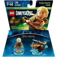 WB Games - LEGO Dimensions Fun Pack (The Lord of the Rings: Legolas) - Larger Front
