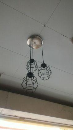 Hanging lamp/metal/Made to Order