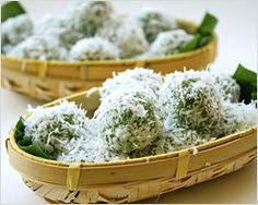 Onde-onde (Ondeh-ondeh)   Easy Asian Recipes at RasaMalaysia.com