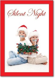 Funny christmas cards silent night hilarious Ideas for 2019 Funny Christmas Pictures, Funny Christmas Cards, Xmas Cards, Christmas Photos, Christmas Humor, All Things Christmas, Funny Xmas, Holiday Cards, Funny Pictures