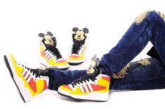 Disney Mickey Mouse Adidas Originals High Tops Cartoon Shoes Disney Cartoon-mickey mouse ,the one cartoon since ,t. Mickey Mouse Cartoon, Disney Mickey Mouse, Cartoon Shoes, High Top Sneakers, Sneakers Nike, Nike Tennis Shoes, Jeremy Scott, Disney Cartoons, Adidas Originals
