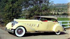 1934 Packard LeBaron. One of my father's favorite cars...she was a beauty!