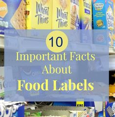 There is more to a food label than meets the eye. Find out what's in your food with these 10 helpful food label facts! Diabetes Facts, Seafood Seasoning, Important Facts, Real Food Recipes, Healthy Recipes, Pie Recipes, Dessert Drinks, Food Labels, Kids Health