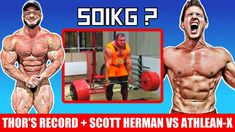 Ivan Challenges Thor's Record (470kg X Reps) + Tampa Pro 1 Day Out + Scott Herman BLASTS Athlean-X - YouTube 1 Day, Days Out, Thor, Bodybuilding, Challenges, Superhero, Youtube, Movies, Movie Posters