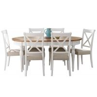 Georgie - Extending Dining Table & 6 Chairs - £599 from Fishpools