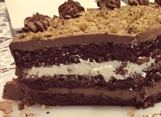 Cel mai bun tort cu ciocolata - Rețete Papa Bun Mai, Carne, Bakery, Deserts, Good Food, Food And Drink, Vegan, Chocolate, Birthday