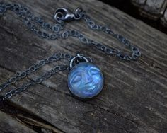 Man in the Moonstone Necklace, Man In the Moon, Rainbow Moonstone, Sterling Silver, Moonstone by MeSheDesignsLLC on Etsy https://www.etsy.com/listing/232391218/man-in-the-moonstone-necklace-man-in-the