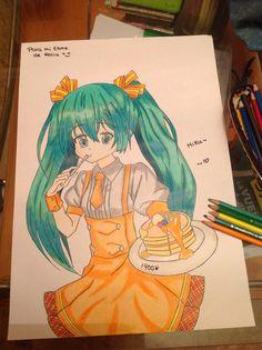 Hatsune Miku #miku #vocaloid #hatsune #anime #kawaii