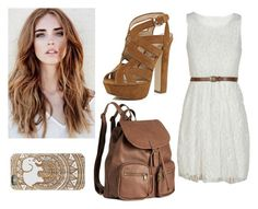 """casual dress #4"" by alexfred ❤ liked on Polyvore featuring River Island and H&M"