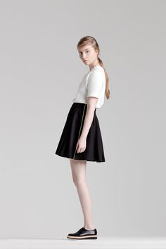 Sustainable fashion for a feminine and effortless style Sustainable Fashion, Ballet Skirt, Feminine, Classic, Skirts, Collection, Dresses, Style, Girly