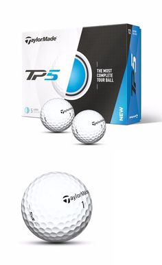 Golf Balls 18924: New 2017 Taylormade Tp5 Golf Balls 1 Dozen -> BUY IT NOW ONLY: $44.99 on eBay!