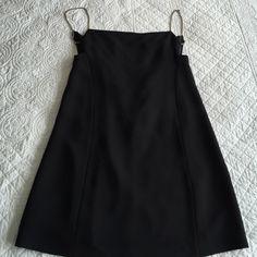 Narciso Ridriguez silk black dress size 4 US 100 % silk gorgeous new designer black dress made in Italy size 40 or US 4 Narciso Rodriguez Dresses