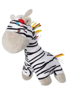 Zebra Plush Toy - girls - baby & toddler (0-3)  - Children