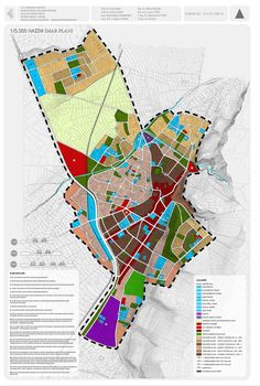 City and Regional Planning Department Student Projects - marita home Urban Design Diagram, Urban Design Plan, Urban Analysis, Site Analysis, City Layout, Landscape And Urbanism, Land Use, Site Plans, Architecture Plan