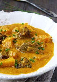 Curry de porc à l'ananas et aux épices douces