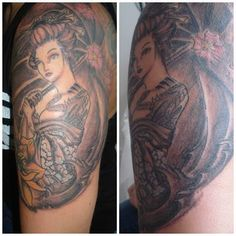 Gueisha Tattoo 2