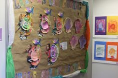 After reading A House For A Hermit Crab by Eric Carle students made themselves into Hermit Crabs, complete with light up lantern fish. Activity reinforced listening and reading comprehension, story sequencing, fine motor control, and following directions.
