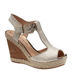 So cute!  Antonio Melani Yardley TStrap Sandals #Dillards