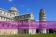 Here's how to make the most of one week in Italy. From the history to the food, plan a trip to Italy with our Italy itinerary and enjoy your dream vacation!