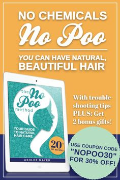 Awesome book about natural hair care! Coupon code nopoo30. www.thenopoomethod.com