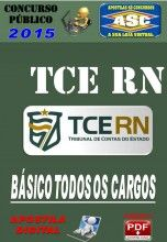 Apostila Concurso TCE RN Conhecimentos Basicos Todos os Cargos 2015