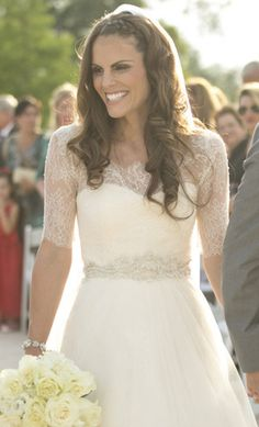 Monique Lhuillier 'Bliss' size 0 used wedding dress - Nearly Newlywed