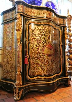Detail of Boulle Marquetry (early 18th century?)