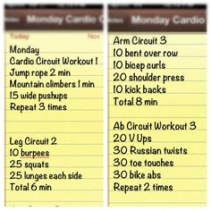 Cardio & Strength Circuit