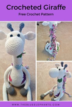 You guys might remember a giant crochet giraffe that I posted a pattern for last year. I loved that giraffe, but because I wasn't writing the pattern down at the time, that crochet giraffe pa…