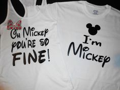 ****Disney COUPLE SHIRT - Vacation T shirt Customized *** ****THIS LISTING INCLUDE 2 SHIRTS: 1 TANK TOP OR WOMEN V-NECK S-XL SIZE (2XL