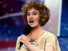 You have to watch this Susan Boyle makeover. Please, stop trusting pictures you see in magazines!