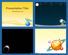 Templates kids playing and children on pinterest free powerpoint templates astronomy toneelgroepblik Gallery