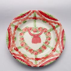 pancha Plates, Tableware, Design, Red, Green, Tablewares, Licence Plates, Dishes, Dinnerware