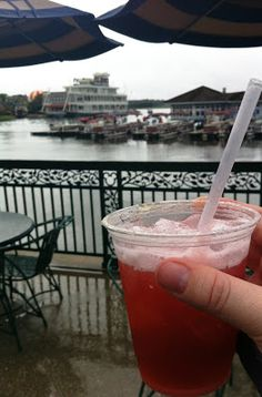 I'll Drink To That...and That: A little Margarita with my Magic...    Wildberry Margarita featuring 1800 Silver Tequila, Monin Wildberry, Lime Juice, & Sweet and Sour.  A nice way to escape from the Disney Magic...