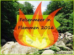 Ausflugtipp: Felsenmeer-Erlebnistage mit Felsenmeer in Flammen
