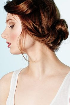 Wedding Hairstyles for Outdoor Weddings - Soft Rolls