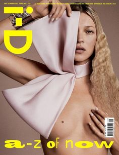 Kate Moss for i-D Repinned by www.fashion.net