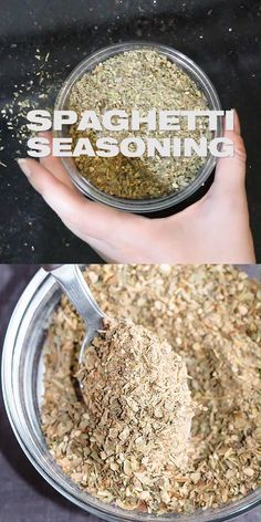 The best Spaghetti Seasoning Mix - Add amazing flavors to your pasta dish and sauce easily with this DIY homemade flavor giving spice blend for spaghetti DIY seasoning masalaherb Homemade Dry Mixes, Homemade Spice Blends, Homemade Spices, Homemade Seasonings, Spice Mixes, Homemade Curry Powder, Dry Rub Recipes, Rib Recipes, Potato Recipes