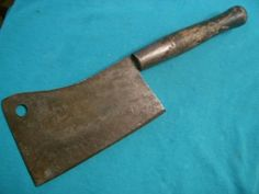 Antique Butchers Tools