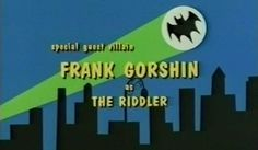 With Batman drugged and unable to follow, the Riddler grabs Robin as the first-half of the two-parter comes to an end. Description from razorfine.com. I searched for this on bing.com/images