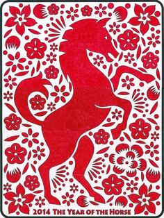 Art Projects for Kids: Chinese New Year 2014 Mural Winter Art Projects, Projects For Kids, Murals For Kids, Art For Kids, Chinese New Year 2014, Chinese New Year Activities, Chinese New Year Decorations, New Year Art, Year Of The Horse
