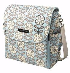 PETUNIA PICKLE BOTTOM PEACEFUL PORTOFINO BOXY BACKPACK DIAPER BAG POTTERY BARN #PetuniaPickleBottom