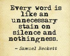 ...Samuel Beckett