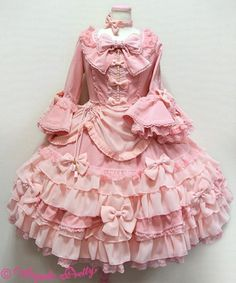 Angelic Pretty Aphrodite OP in Pink (high) Harajuku Mode, Harajuku Fashion, Kawaii Fashion, Lolita Fashion, Cute Fashion, Alternative Mode, Alternative Fashion, Pretty Outfits, Pretty Dresses