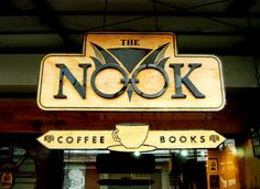 The Nook Cafe aka the Harry Potter Cafe of Quezon City, Philippines